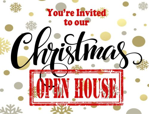 Join Us at Our Christmas Open House and Sidewalk Sale on November 8th!